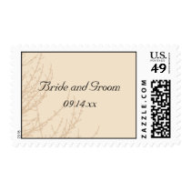 Nature's Branches Wedding Postage