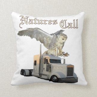 Nature's Call Trucker's pillow