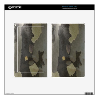 Nature's Camouflage -Sycamore Bark Kindle Fire Skins