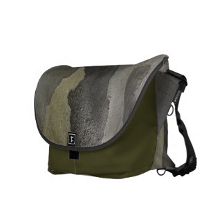 Nature's Camouflage -Sycamore Bark Messenger Bag