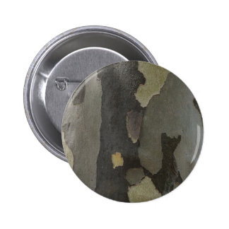 Nature's Camouflage -Sycamore Bark Pinback Button