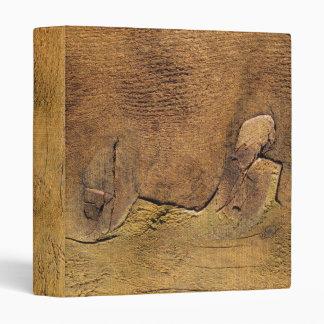 Nature's Cedar Wood Abstract Art Binder
