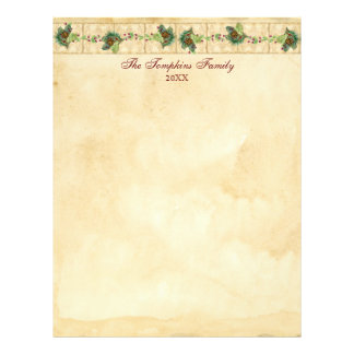 Nature's Christmas Magnolia Wreath n Pine Boughs Flyer