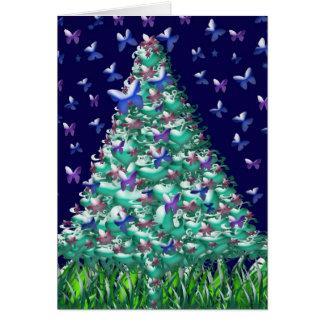 Natures Christmas Tree Card