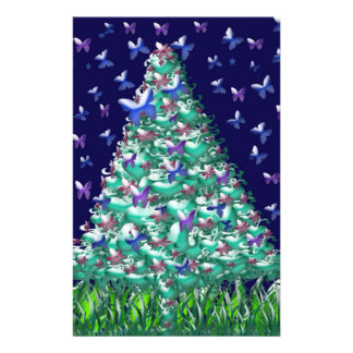 Natures Christmas Tree Flyer