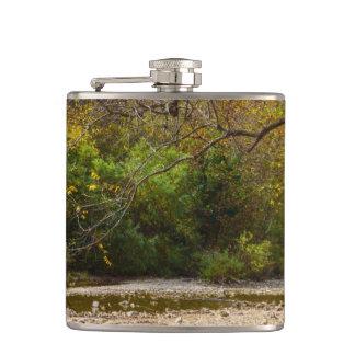 Natures Circle Hip Flask