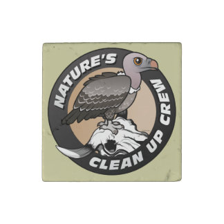 Nature's Clean Up Crew Stone Magnet