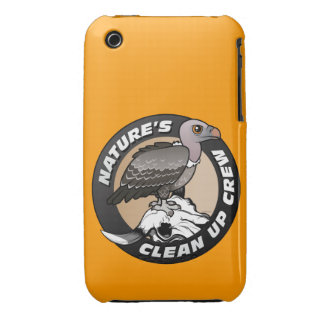 Nature's Clean Up Crew iPhone 3 Cover