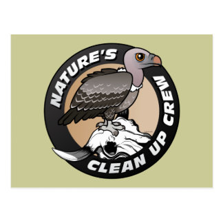 Nature's Clean Up Crew Postcard