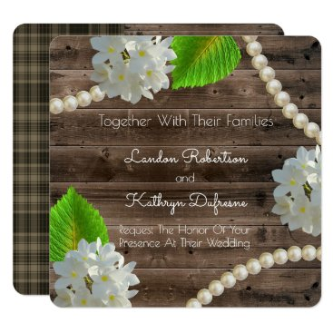 think_out_loud Nature's Elegance Rustic Wedding Invitation
