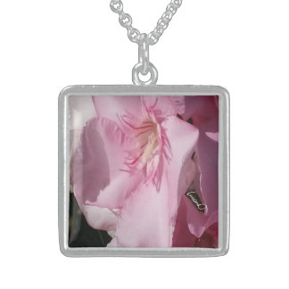 Nature's Floral Artwork...Sterling Silver Necklace