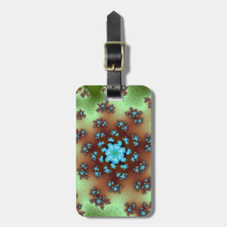 Nature's Floral Sprinkles Luggage Tag