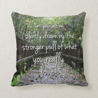 Nature's Folio DAILY INSPIRATIONS Gift Ideas . . . Throw Pillow