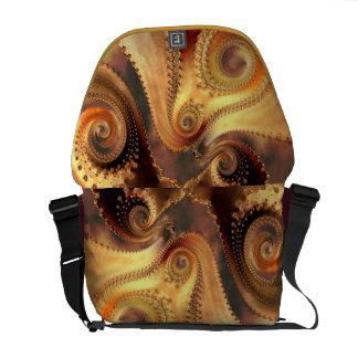 Nature's Fractal Patterns Messenger Bag