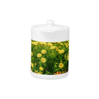 Natures Garden Teapot