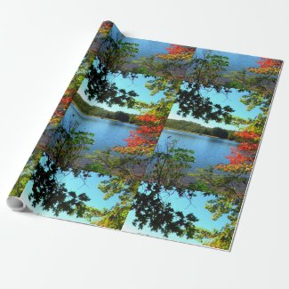 Natures Gift to Hikers Wrapping Paper