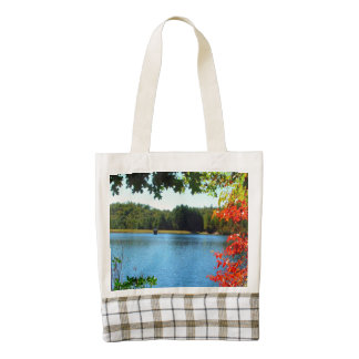 Natures Gift to Hikers Zazzle HEART Tote Bag