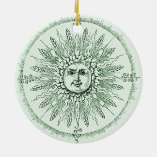 Natures Green, double sided ornament