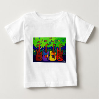Natures Guitars by Piliero Baby T-Shirt
