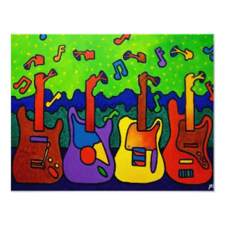 Natures Guitars by Piliero Card