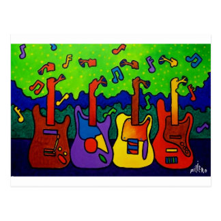 Natures Guitars by Piliero Postcard