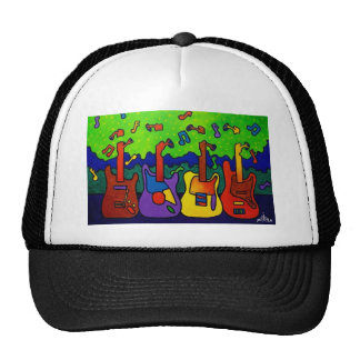 Natures Guitars by Piliero Trucker Hat