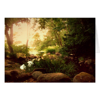 Natures Hideaway 2 blank Stationery Note Card