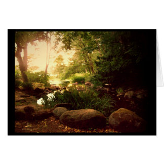 Natures Hideaway Card