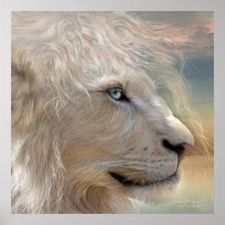 Nature's King - Portrait Fine Art Poster/Print Poster