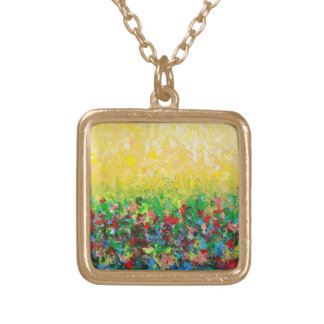 NATURE'S LIVING ROOM - Bold Abstract Art Necklace