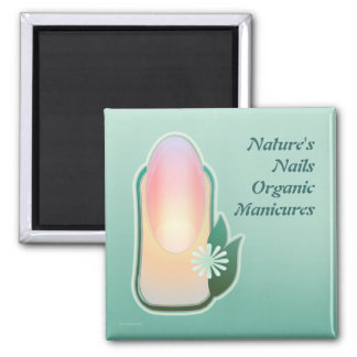 Nature's Nails Refrigerator Magnets