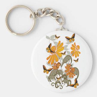 Natures Orange Keychain