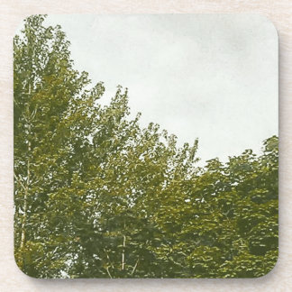 Natures Painting Beverage Coaster