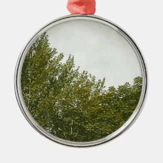 Natures Painting Metal Ornament
