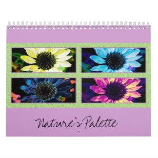 Nature's Palette Calendar