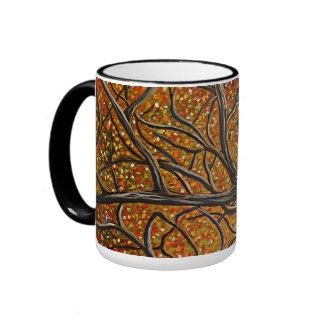 """Natures Palette"" Ringer Coffee Mug"