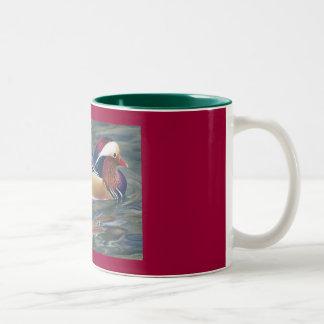 Nature's Palette Two-Tone Coffee Mug