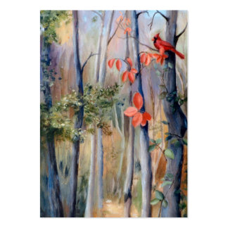 Natures Path Cardinal Art Card Large Business Card