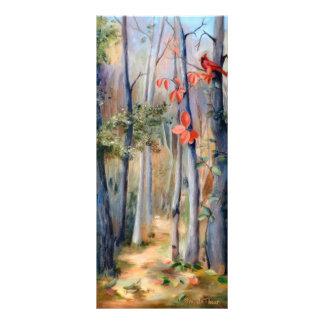 Natures Path Cardinal Bookmark Customized Rack Card