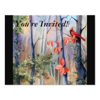 Natures Path Cardinal Invitation