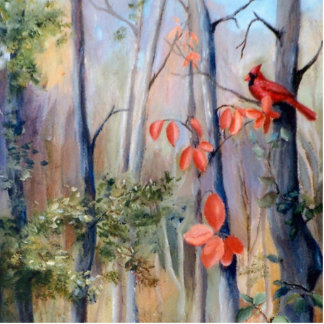 Natures Path Cardinal Photo Sculpture