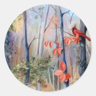 Natures Path Cardinal Sticker