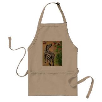 nature's patterns adult apron