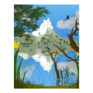 Natures Reflections Letterhead