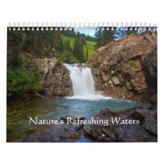 Nature's Refreshing Waters Calendar
