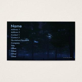 Nature's Secret Business Card Template
