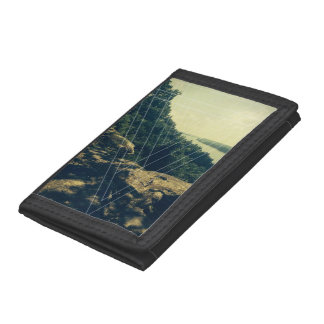 Natures Serenity Trifold Wallets