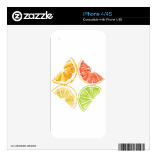 Nature's Sour Sweet Jewels Decal For The iPhone 4S