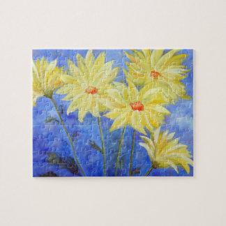 Nature's Sunshine - Yellow Daisies Jigsaw Puzzle