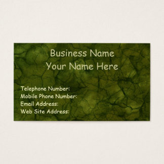 NATURE'S TEXTURES Green Business & Profile Cards